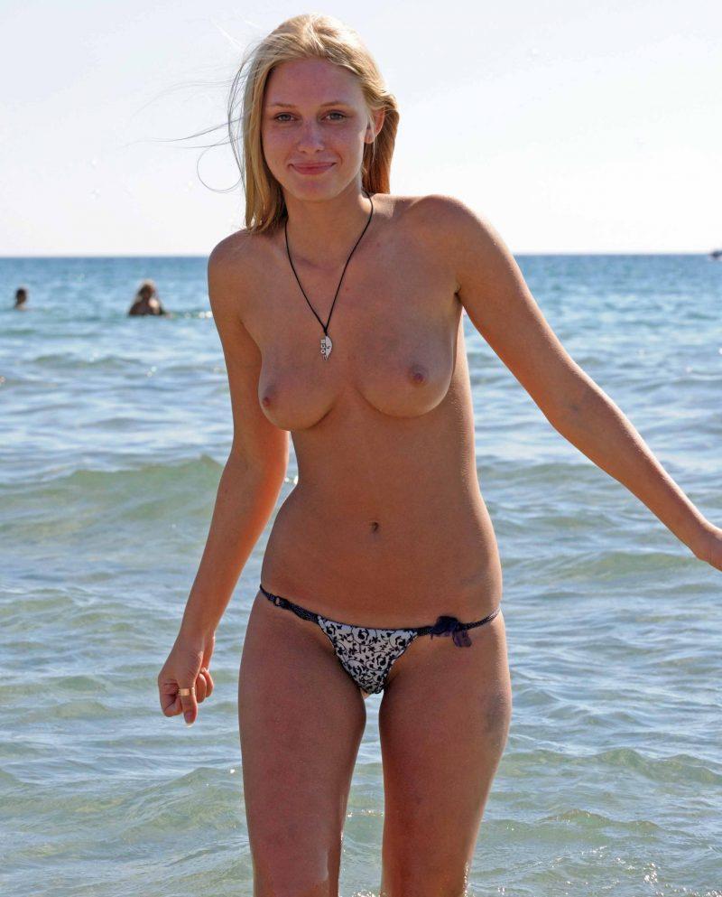 Teen beach topless