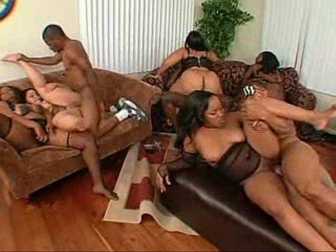 Ebony anal white orgy Anal