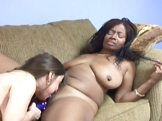 Snake recommend best of girl white Ebony lesbians porn and