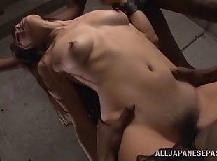 Asian girls having sex and smoking
