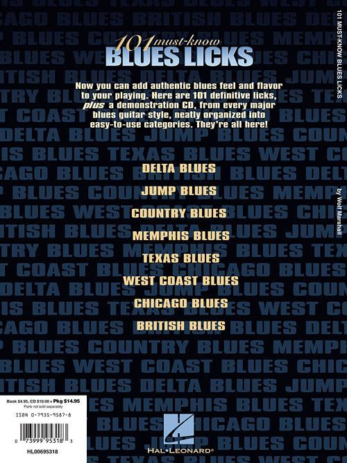 Athens reccomend 101 blues know lick must