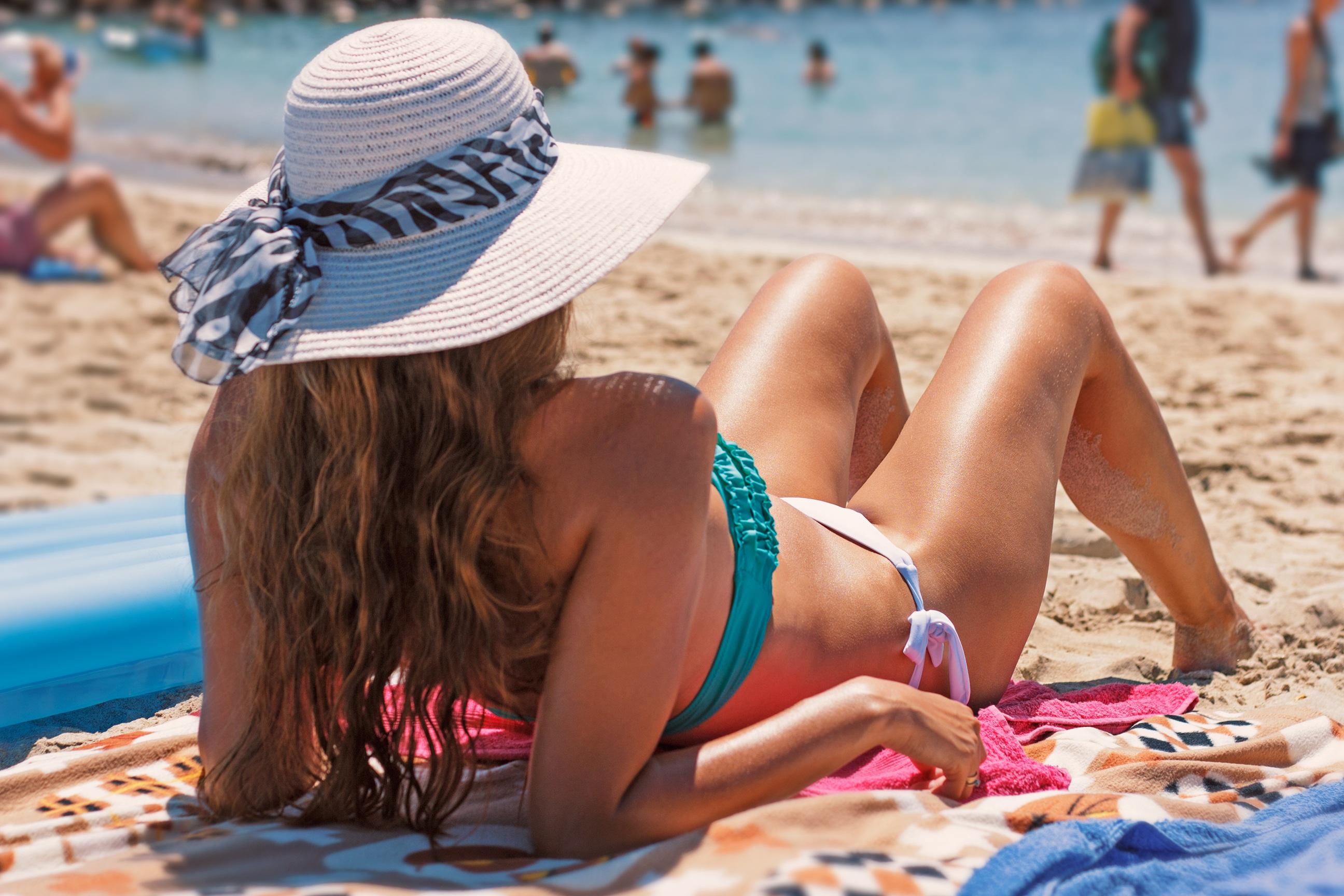 Basecamp reccomend Beach bikini break tan