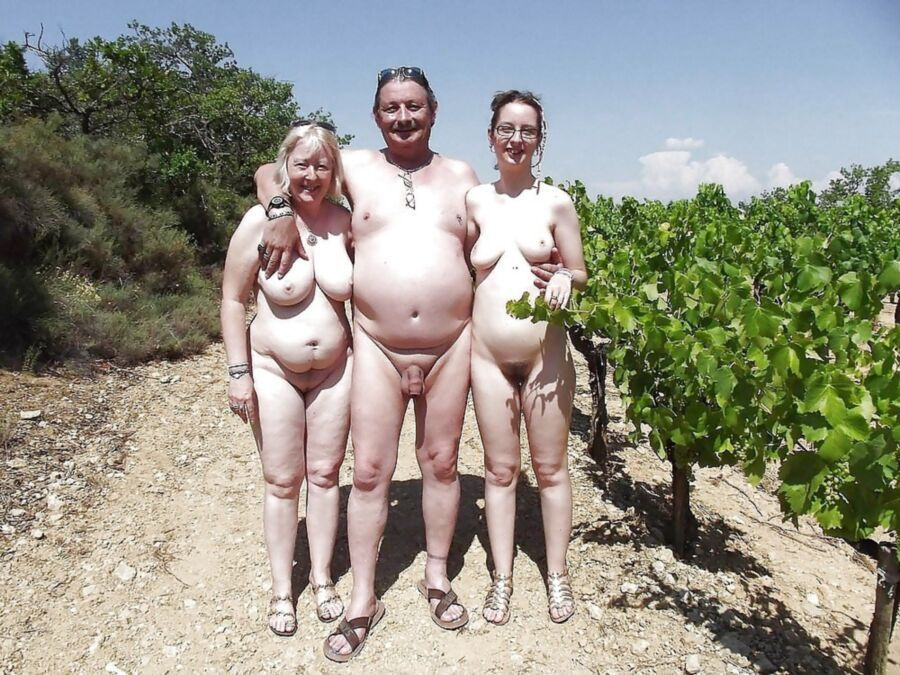 Dad daughter nudist