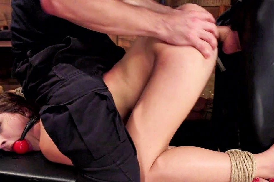 Teen caught masturbating gets fucked