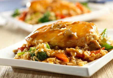 Blitz reccomend Asian chicken and rice recipe