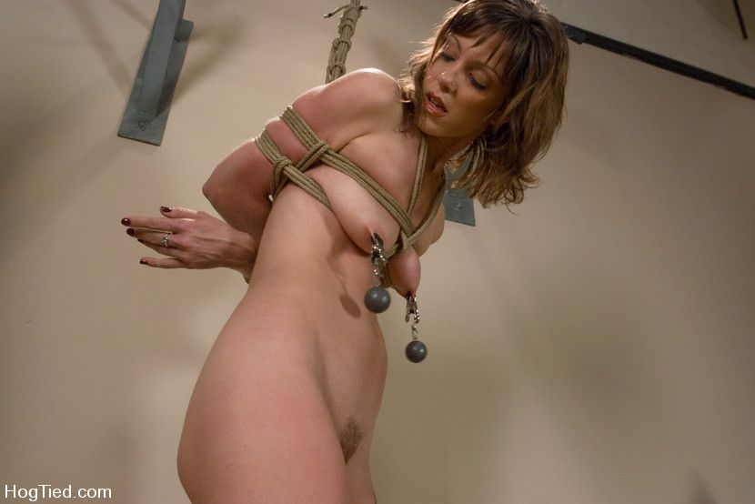 Beautiful yoga instructor in bondage gallery