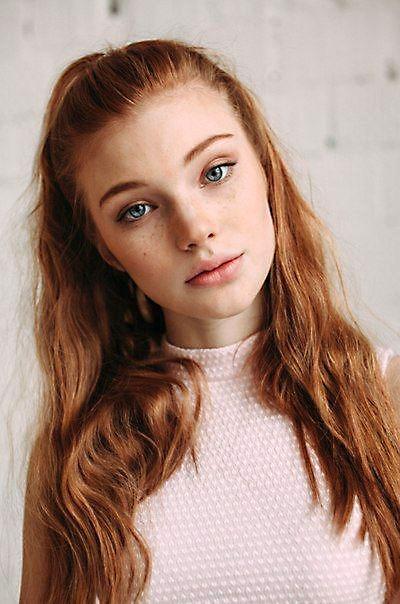 Beautiful southern redhead
