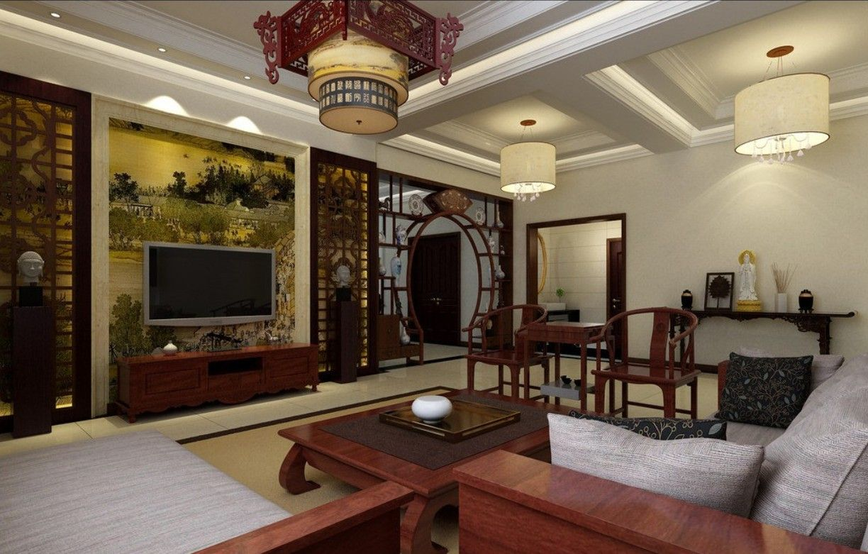 Asian decorating interior style