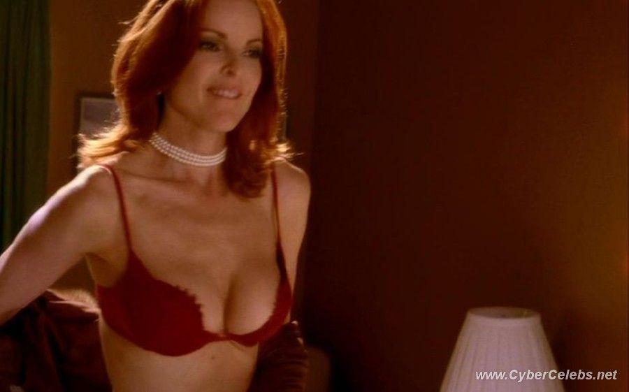 Nude shower cross Marcia