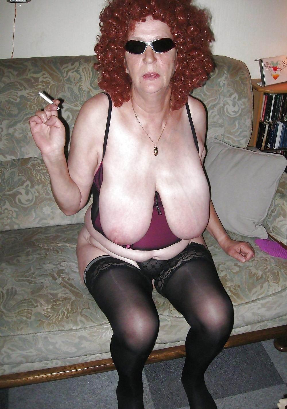 Comet reccomend Huge tit granny slut porn
