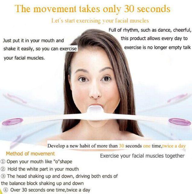 Exercise facial online