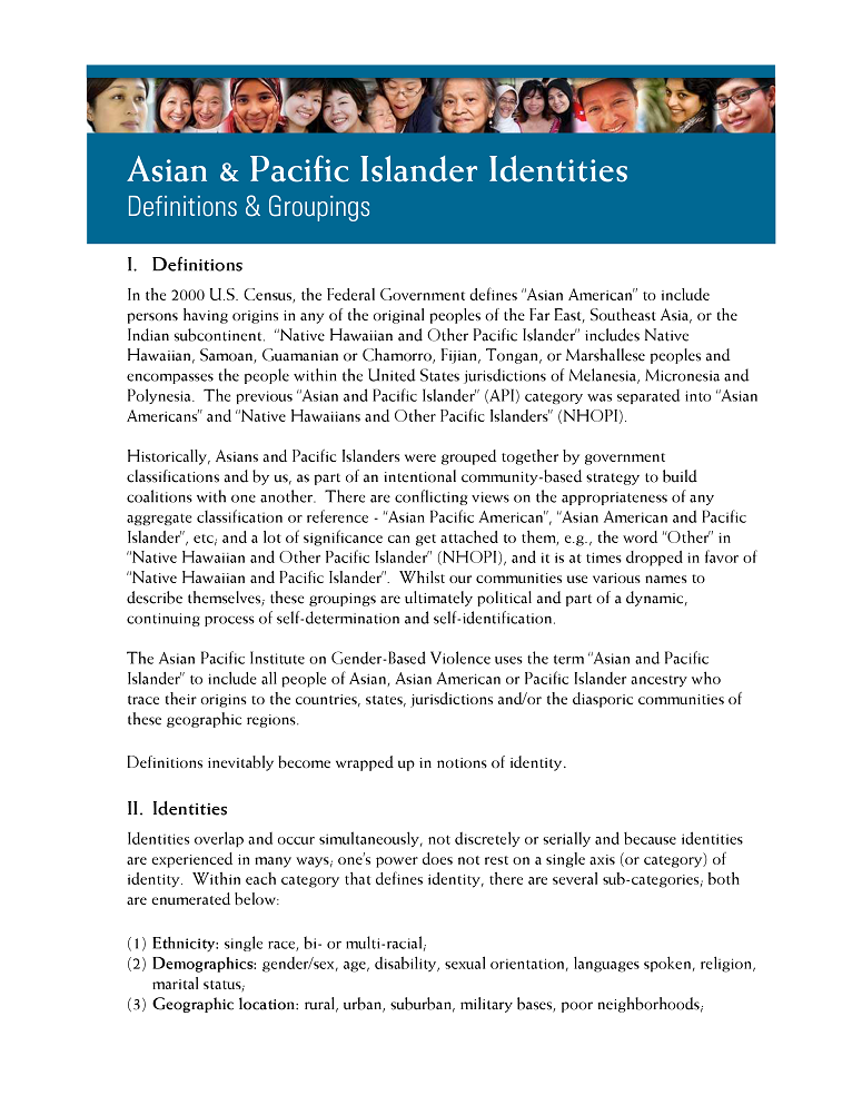 best of Pacific islander definition Asian
