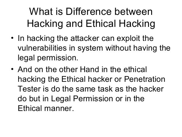 Bull reccomend Ethical hacking and penetration testing