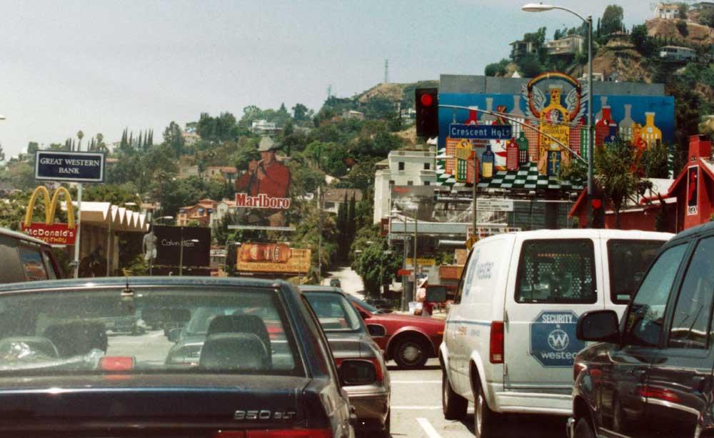 Glitzy reccomend Billboard strip sunset