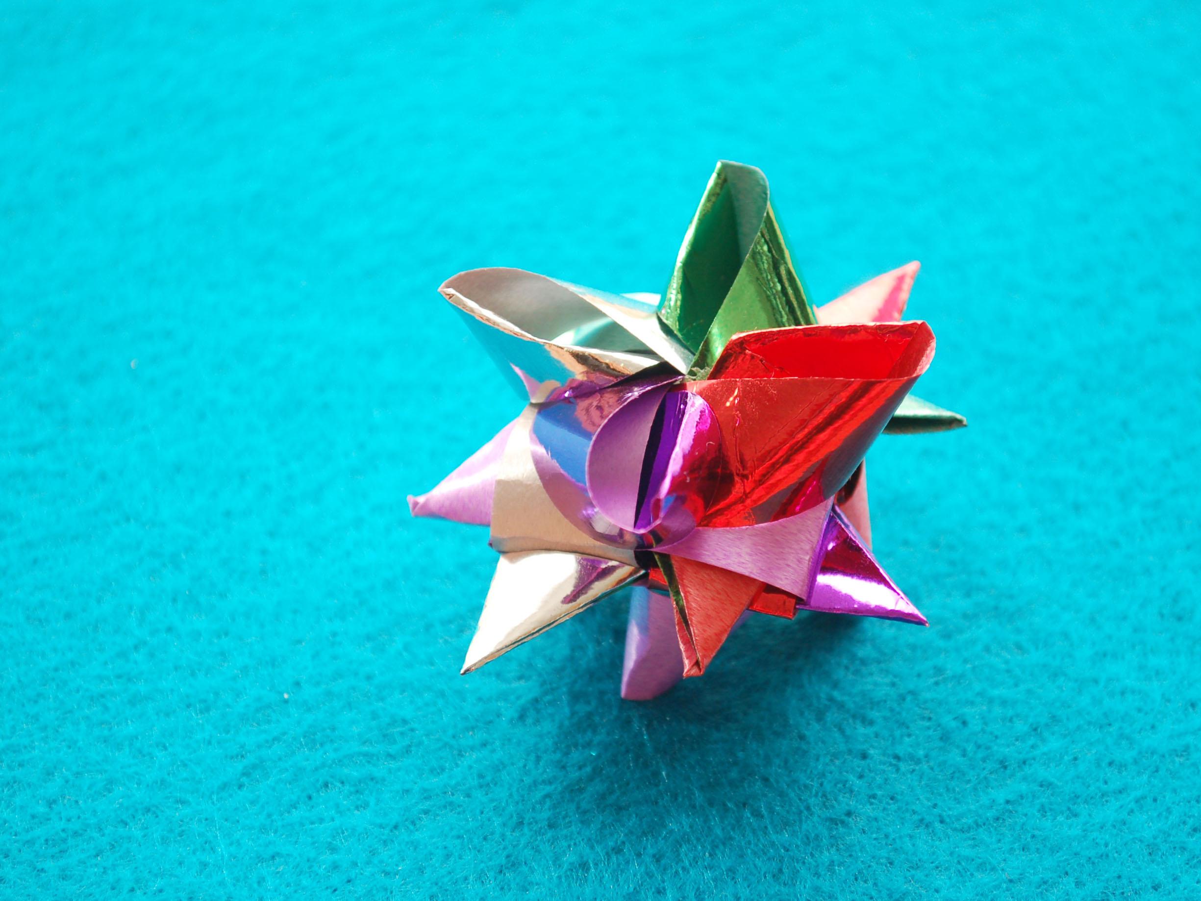 best of Strip birds folded paper German