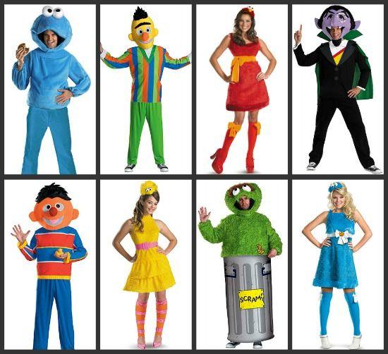 V-Mort reccomend Adult costume halloween sesame street
