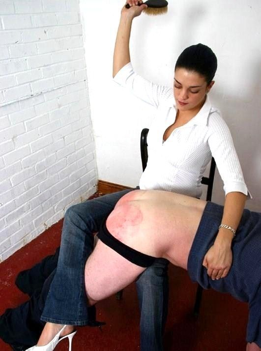 Women who spank their man