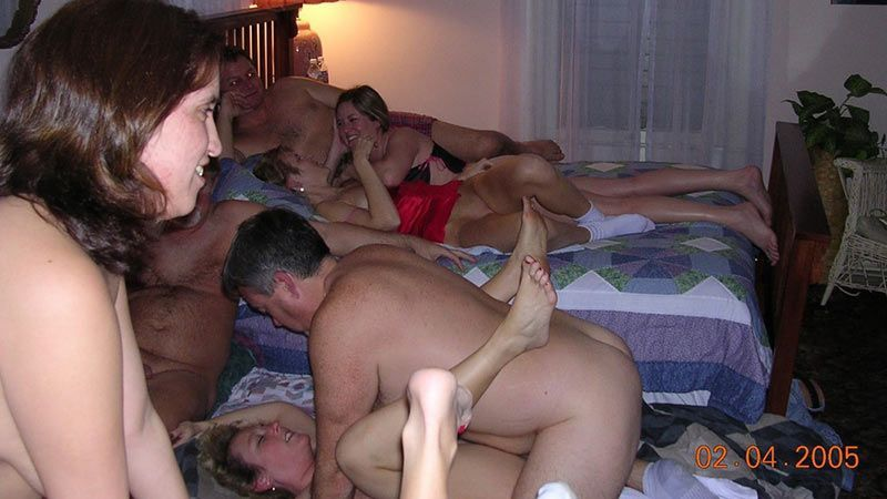 Orgy party wife