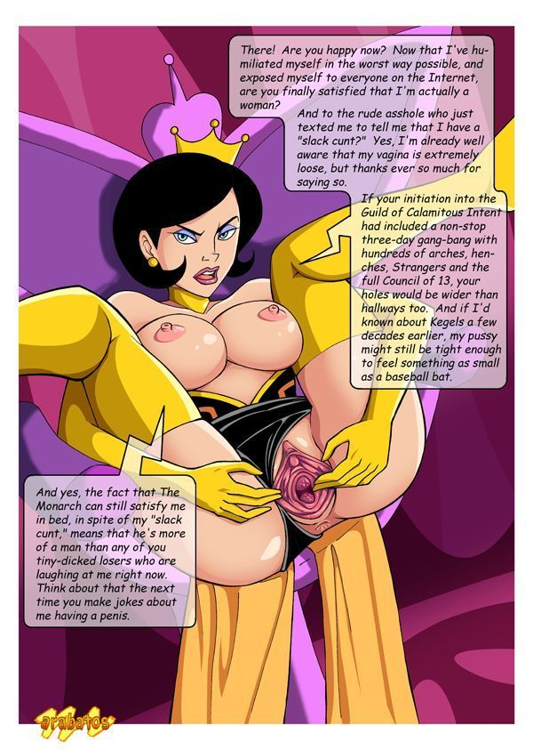 Venture brothers monarch girlfriend hentai