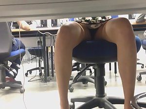 best of Upskirt Real office