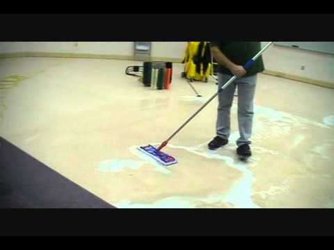 Chemical strip floor
