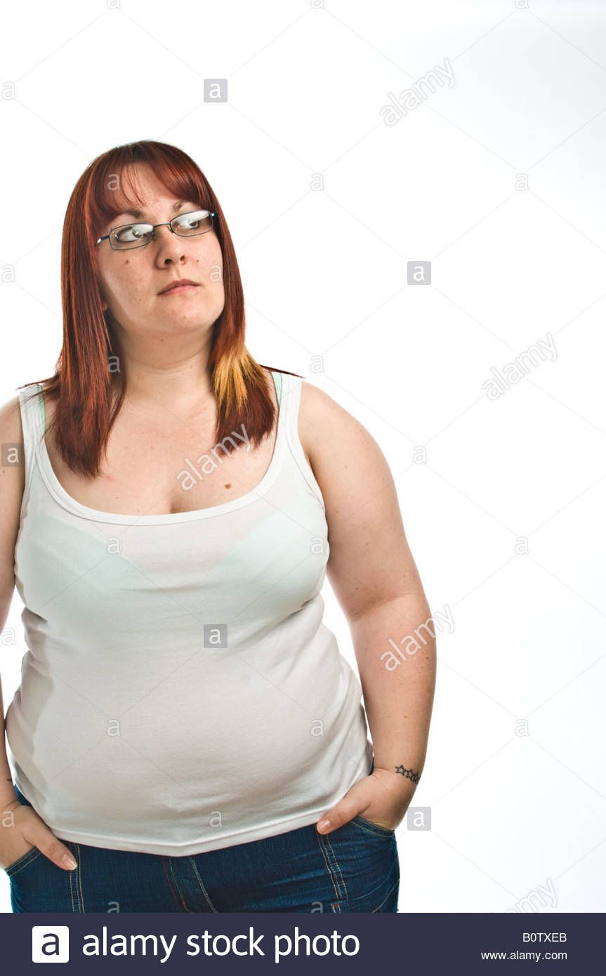 Chubby chunky fat