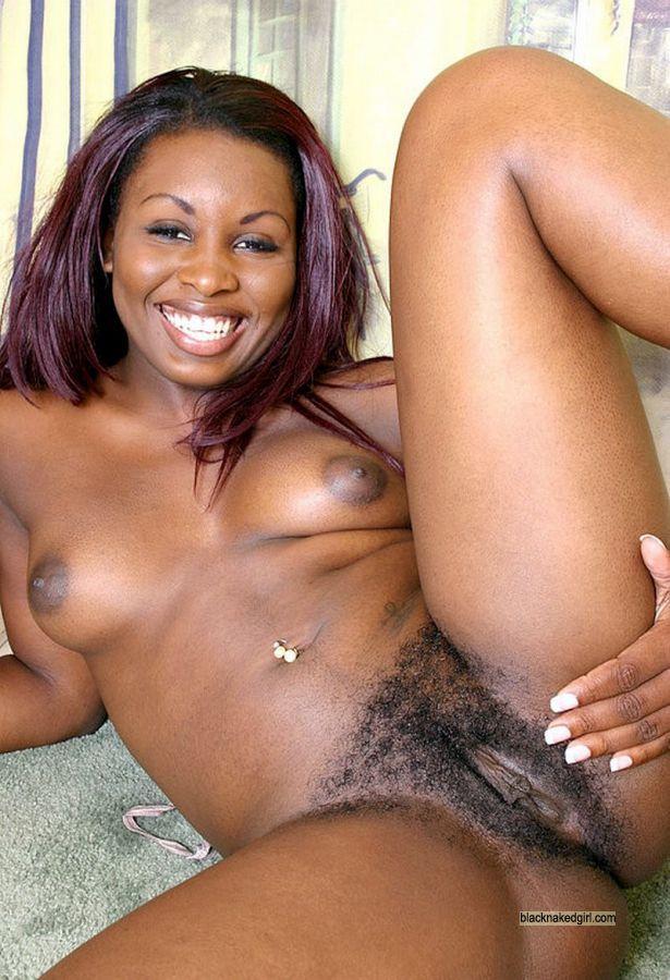 Girls naked private black