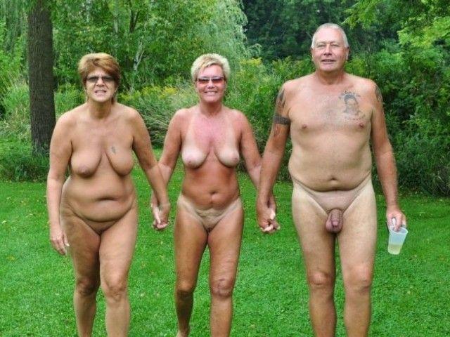 Mature nudist camp