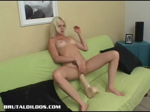 Jada huge dildo video