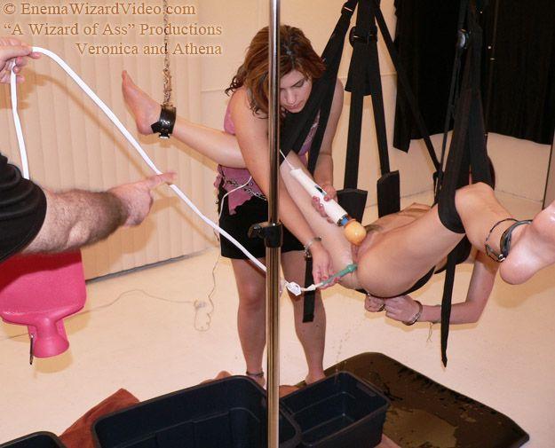 enema bondage spanking