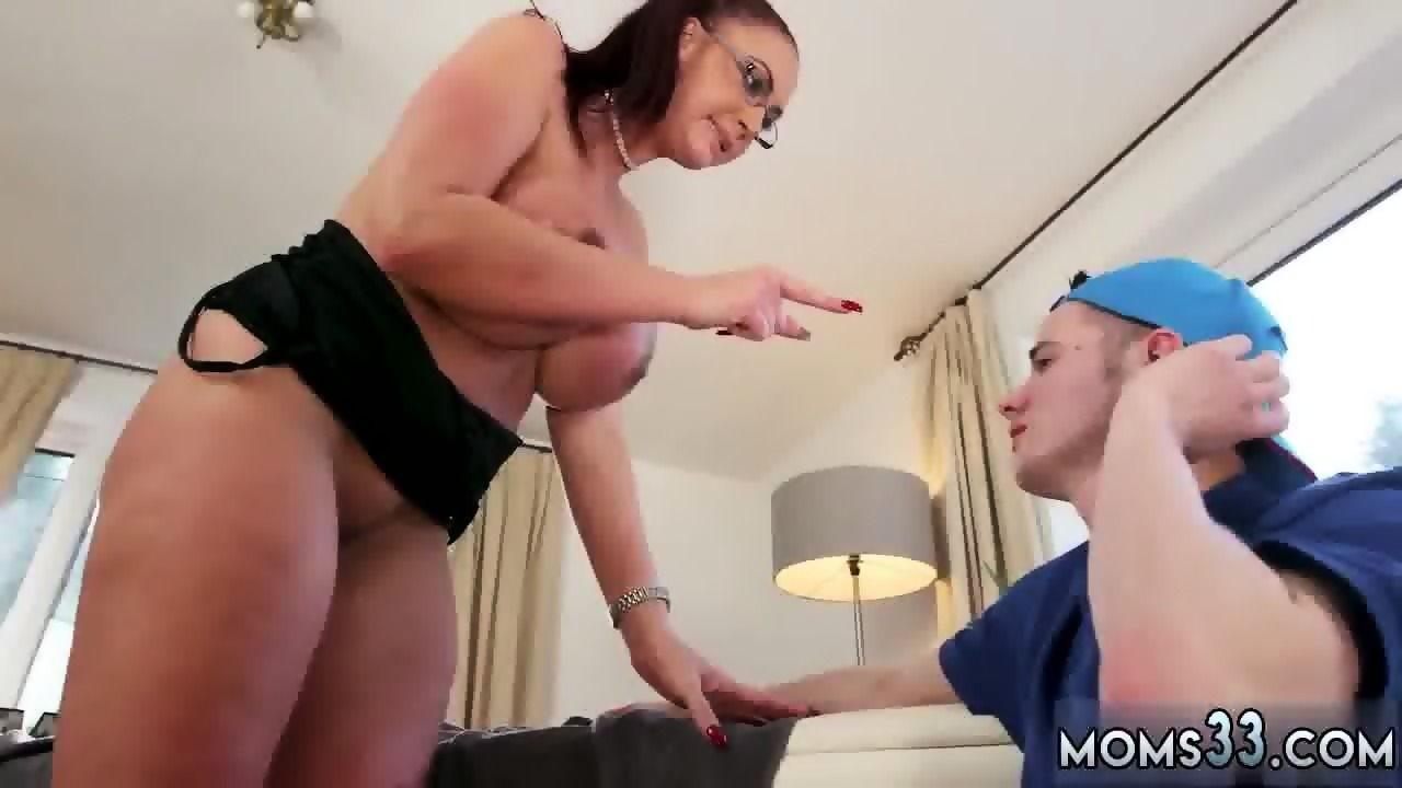 Big tit anal moms