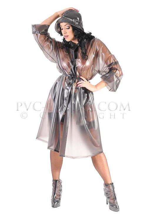 Fetish raincoat rubber