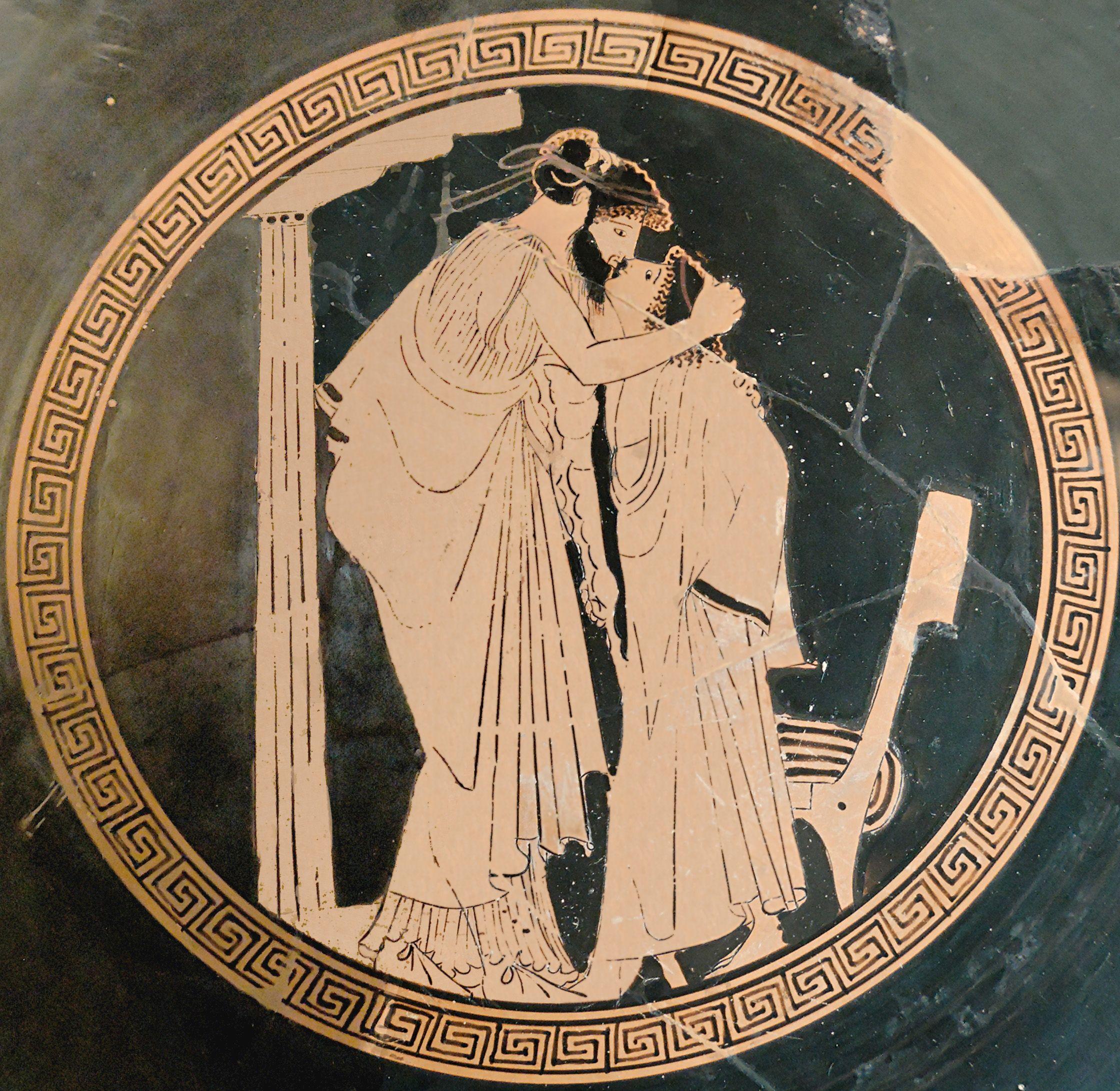 First st greek poet lesbian