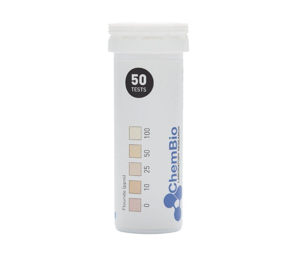 Fluoride test strip