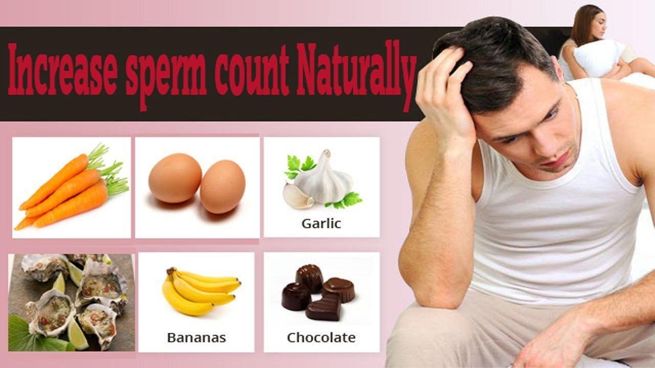 Food helpful in increasing sperm count