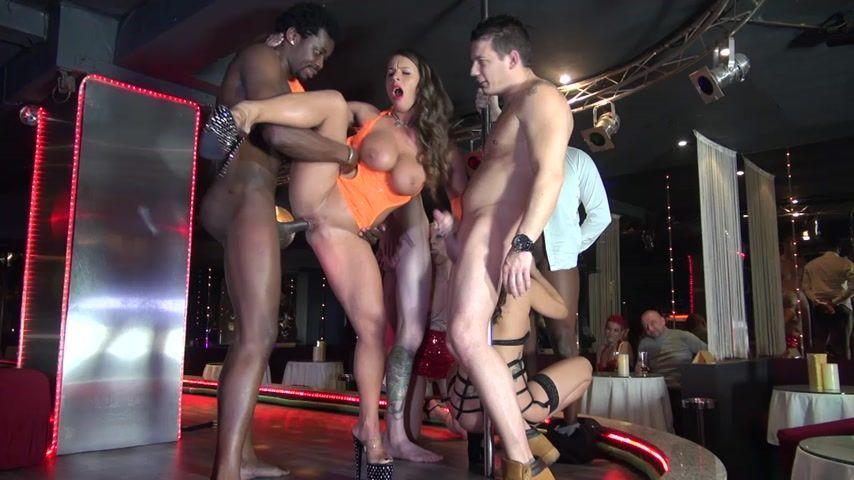 Hammerhead reccomend Gang bang porn strip