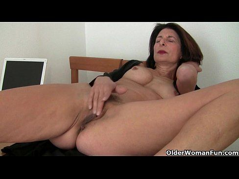 Red tube shaved pussy