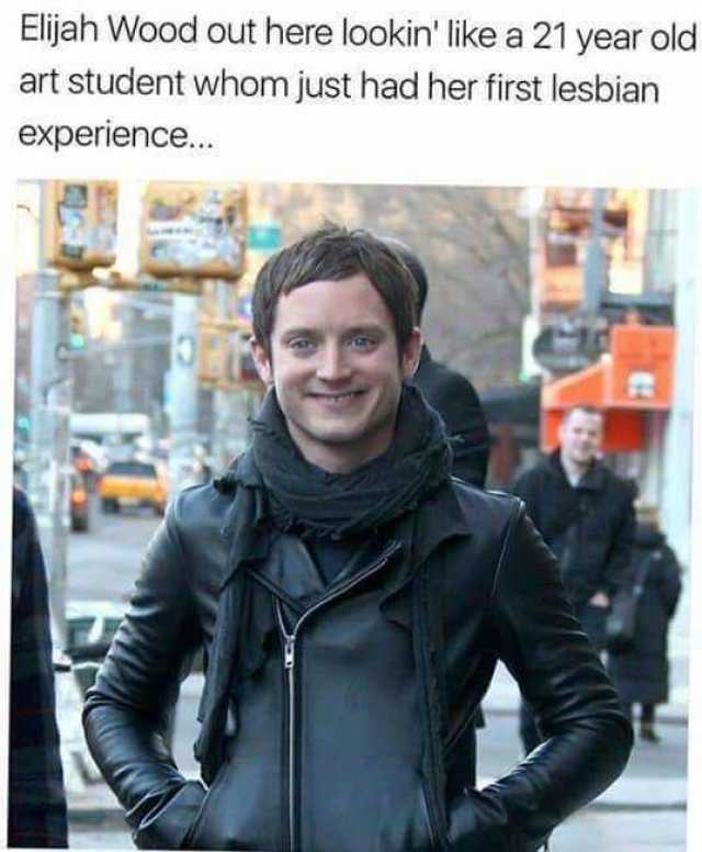 Her first lesbian experinece