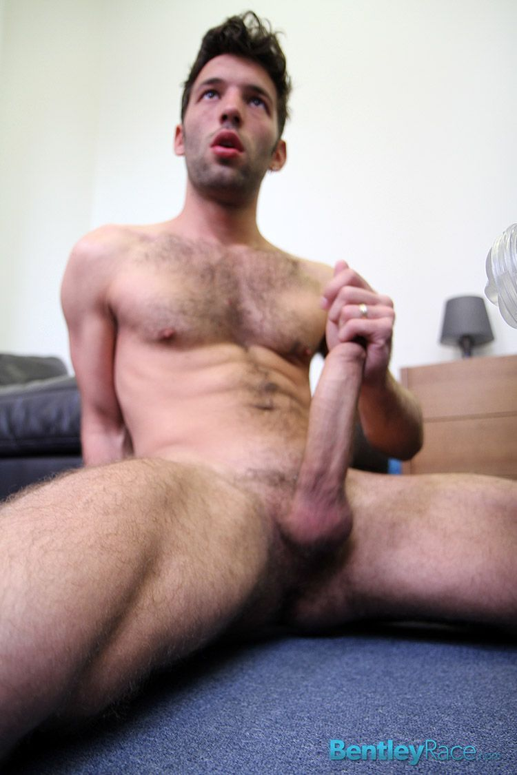 Cute Stud Jerking Off Hard Dick