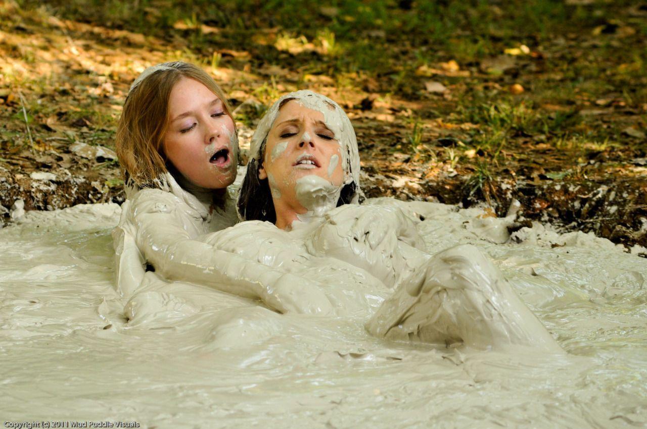 Lesbian mud bath