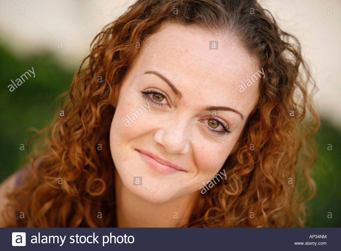 Old redhead facial