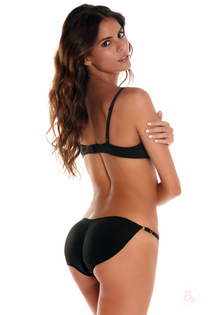 Padded bikini bottoms