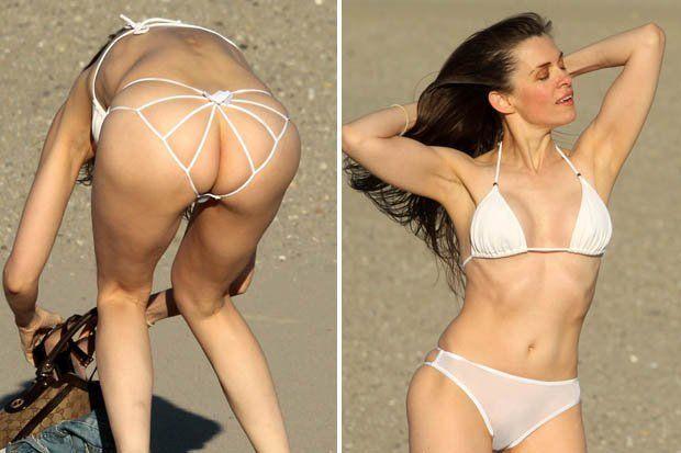 See thru bikini bottom