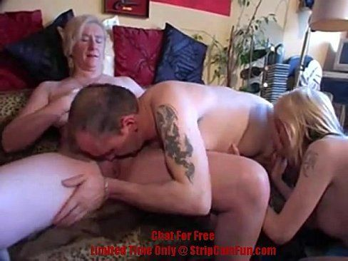 Threesome porn for free