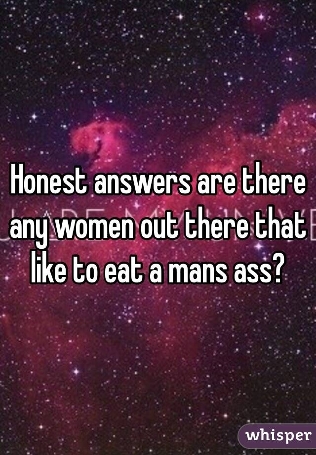 best of Mans Women asshole eat